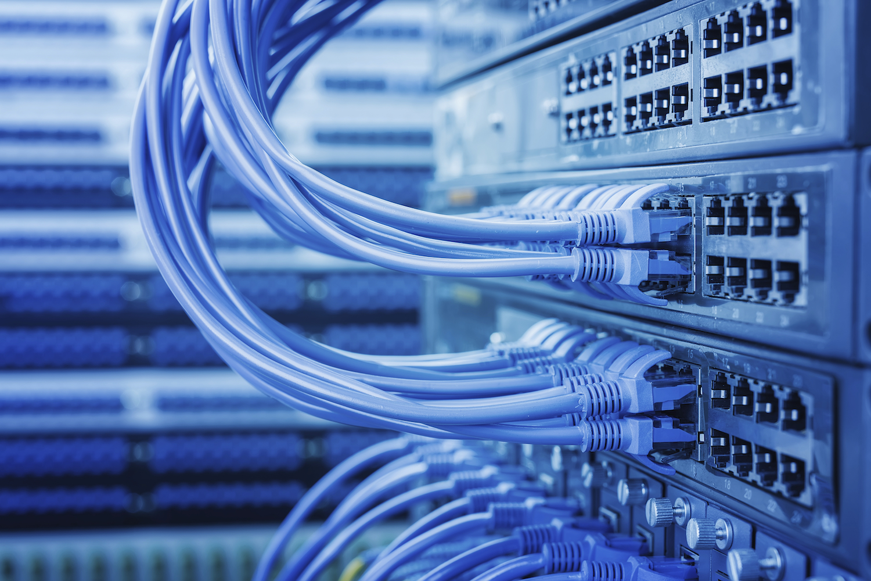 монтаж и обслуживание локальных сетей